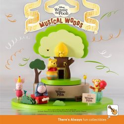 [7-Eleven Singapore] Throw a party with your musical friends from the Hundred Acre Wood!