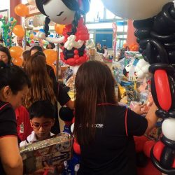 [DBS Bank] Some 120 DBS People of Purpose volunteers recently took part in this year's Toy Buffet - a carnival with games,