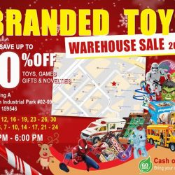 [ACTION TOYZ] The Henderson Toys Warehouse Sale is back!