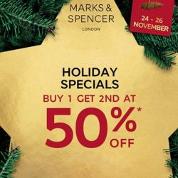 [Marks & Spencer] 3 Days Holiday Special!