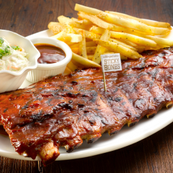 [Singtel] Delight in 1-for-1 Half Slab Sticky Bones at Morganfield's.