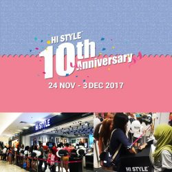 [HI STYLE] Stay tuned to and never miss out on our 10th Annivesary specials !