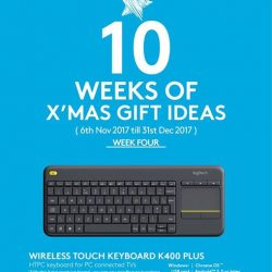 [Newstead Technologies] Week 4 features Logitech K400 Plus - The best ever HTPC Keyboard with Integrated Touchpad now at $49!