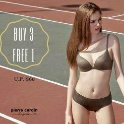 [Pierre Cardin] Let your hair down this TGIF and shop till you drop!