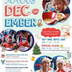 [Ippudo Express] Dear Customers, We will hold the next Child Kitchen Event on 16 December in Singapore.