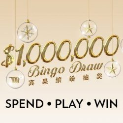 [Marina Bay Sands] Play weekly Bingo to win TOP prize of $1,000,000 CASH!