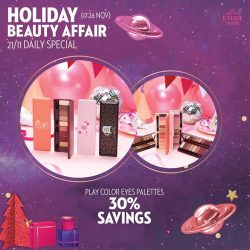 [Etude House Singapore] Be My Universe Holiday Beauty Affair 🔮- Daily Special Day 5 -Enjoy 30% Savings on any Play Color Eyes Palettes.