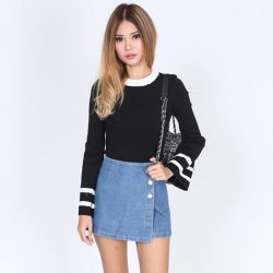 [MDSCollections] Justine Top In Black | On sale items, also our online best sellers