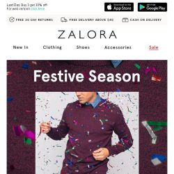 [Zalora] ReNEW your wardrobe with these festive picks!