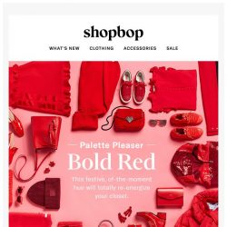 [Shopbop] This bold hue is a winner year round