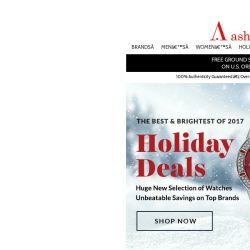 [Ashford] Holiday Deals Start Now – HUGE New Selection!