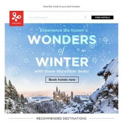 [Kaligo] , earn up to 12,800 Miles with these winter deals!