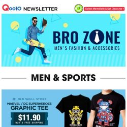 [Qoo10] Excited For Infinity War? Grab Some Limited Edition Graphic Tees Of Your Favourite Superheroes Today!
