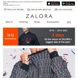 [Zalora] 🎇 Festive Tops for the holiday season!
