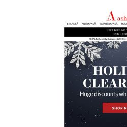 [Ashford] Holiday Clearance Prices on Top Brand Watches