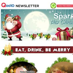 [Qoo10] Tis The Season To Be Jolly! Get Ready To Sparkle This Christmas As We Bring You More Amazing Deals!