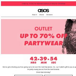 [ASOS] Party with up to 70% off