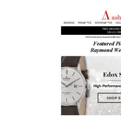 [Ashford] Brilliant Watches from Edox, Raymond Weil, Specially Priced!
