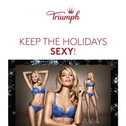 [Triumph] More Reasons To Shop This Holiday Season!