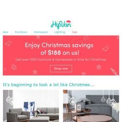 [HipVan] Have you unwrapped your $188 present?🎁🎄