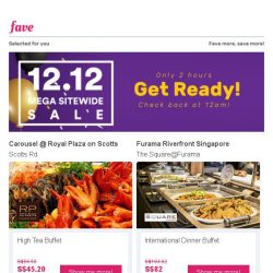 [Fave] Go Makan Makan while we get the 12.12 sale ready for you!