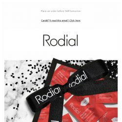 [RODIAL] WIN a Year's Supply of Lip Masks!