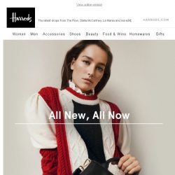[Harrods] All New, All Now