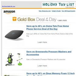 [Amazon] Save up to 40% on Ooma Telo Free Home Phone...