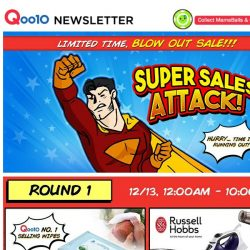 [Qoo10] [LIMITED TIME ONLY] Hurry And Grab All These Super Deals Before Time Runs Out!