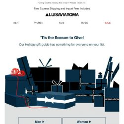[LUISAVIAROMA] Have you shopped our holiday gift guide yet?