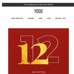[Yoox] Last day: AN EXTRA 35% OFF on a special selection