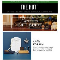 [The Hut] The gifts they really want this Christmas