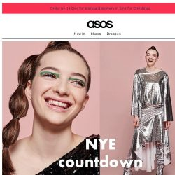 [ASOS] Glitter, sequins, sparkle – it's time to go big