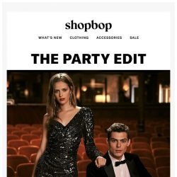 [Shopbop] See what's in our holiday dressing guide