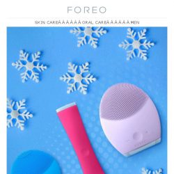 [Foreo] Get Your Perfect Gifts by December 24th