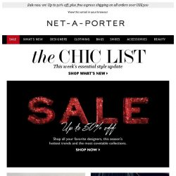 [NET-A-PORTER] The pants that will raise your style stakes, plus sale now on