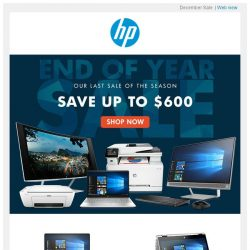 [HP Singapore]  Enjoy up to $600 off HP products!