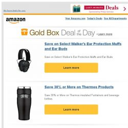 [Amazon] Save on Select Walker's Ear Protection Muffs...