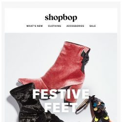 [Shopbop] Your new party shoes