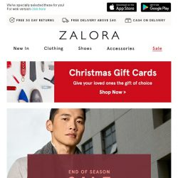[Zalora] Our End of Season Sale is here: Up to 70% off!