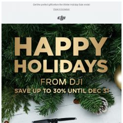 [DJI edm] Save Up to 30% at the DJI Store now!