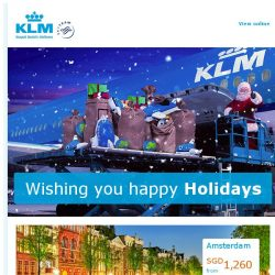 [KLM] Warm up with these Holiday destinations