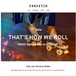 [Farfetch] 6000 items at up to 60% off | Sale just got better