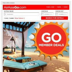 [AirAsiaGo] 🌟 Here's what you've missed last Monday! - 50% Off or more - 🌟