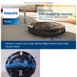 [PHILIPS] Now, there's a smarter way to clean!