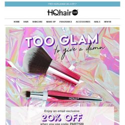 [HQhair] Too Glam To Give A Damn | Save 20% Inside