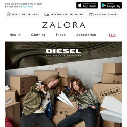 [Zalora] Diesel: Stay true to yourself and come out on top