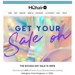 [HQhair] The Boxing Day Sale Is Here | Exclusive Savings Inside