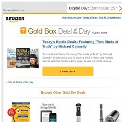 """[Amazon] Today's Kindle Deals: Featuring """"Two Kinds of..."""