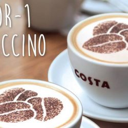 Costa Coffee: Enjoy 1-for-1 Cappuccino at 6 Outlets!